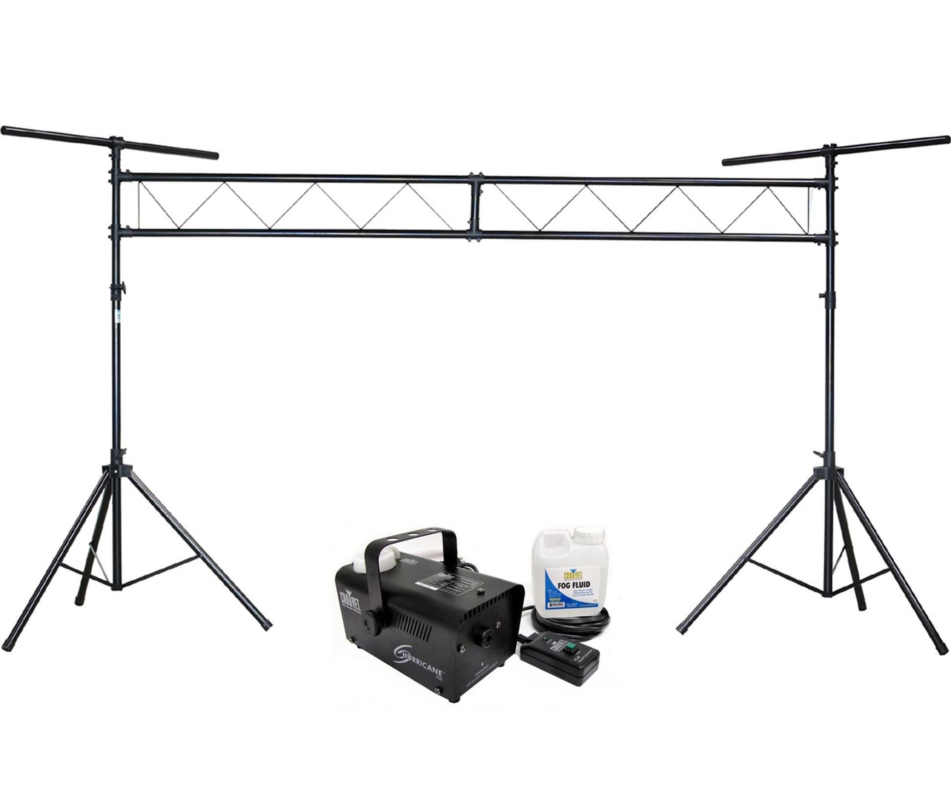CHAUVET Hurricane H700 Fog/ Smoke Pro Machine H-700 + CH-31 DJ Truss Light Stand