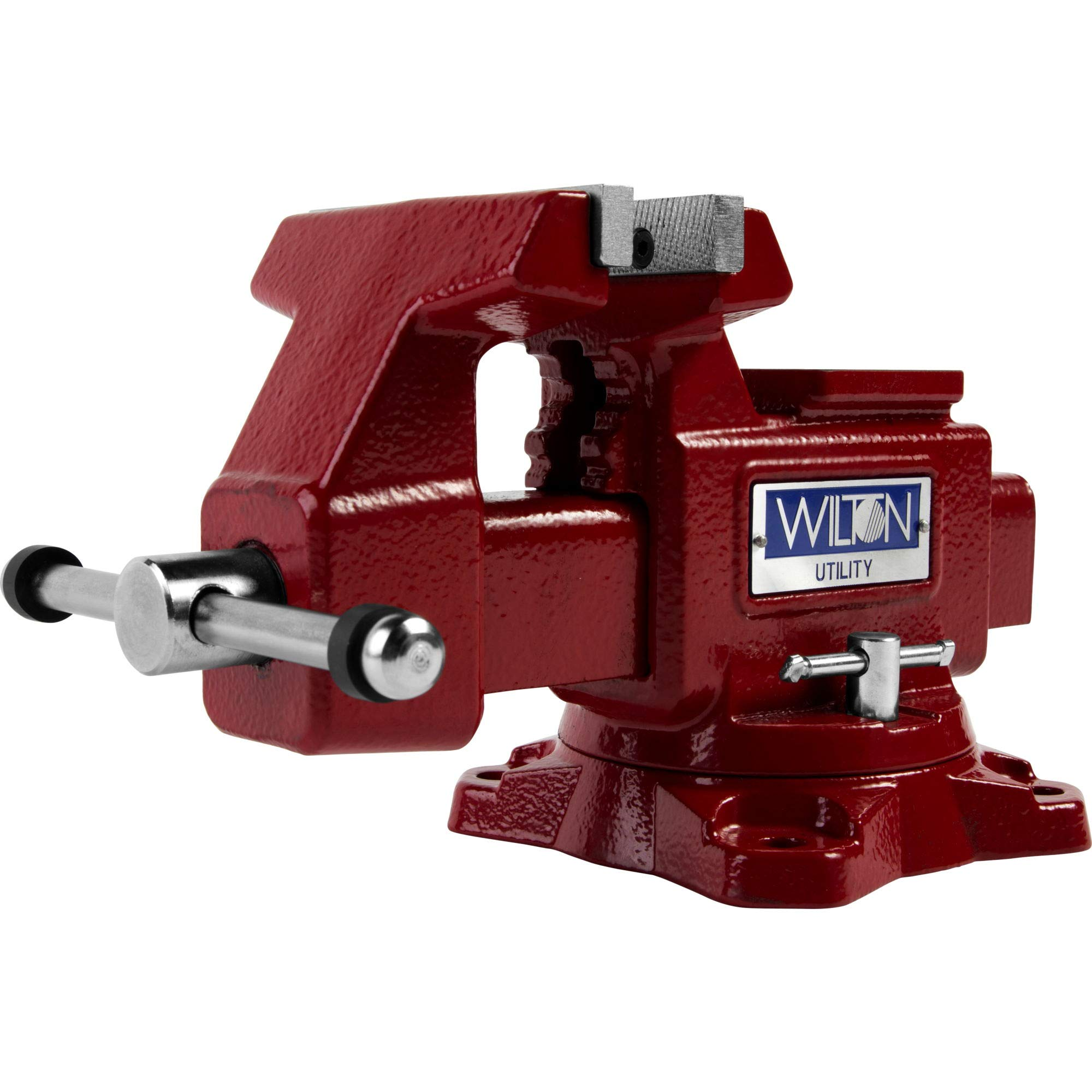 674U, Utility Bench Vise, 4-1/2'' Jaw Width, 4'' Jaw Opening, 2-3/4'' Throat Depth by Unknown