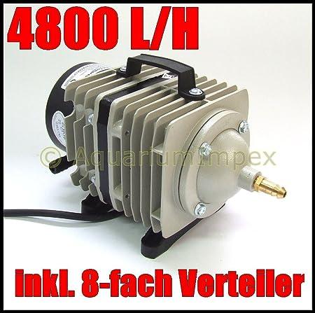 HAILEA ACO-208 Compresseur dair a/érateur Pompe a air Compresseur /à piston Pompe de bassin