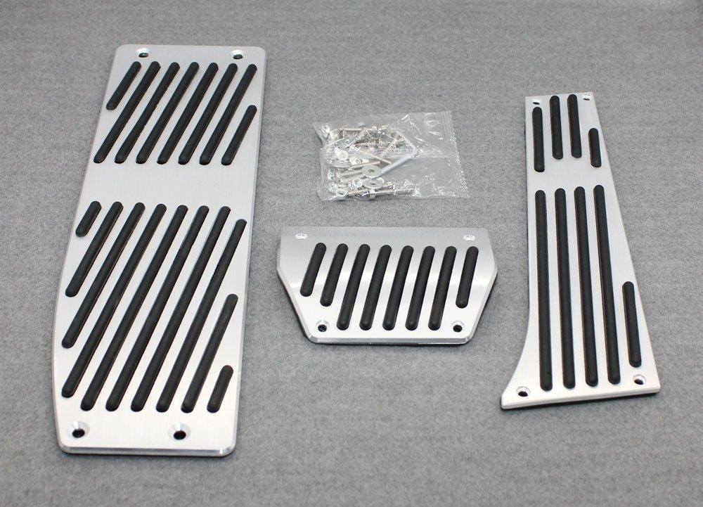 Generic Aluminum Fuel Brake AT Foot Pedals Fit For BMW X1 E30 E36 E87 E46 E90 E91 E92 E93 Kate Wenzhou automobile supplies factory