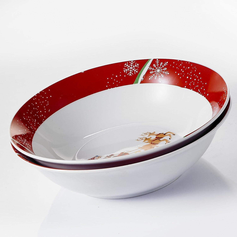 VEWEET CHRISTMASDEER-Bowl /…