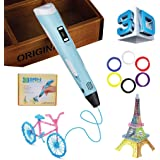 3D Pen - Printing Doodler for Kids and Adults - Heated Drawing Printer Pen  With LED