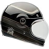 Bell RSD Bagger Adult Bullitt Carbon Street Racing Motorcycle Helmet - Black / Large