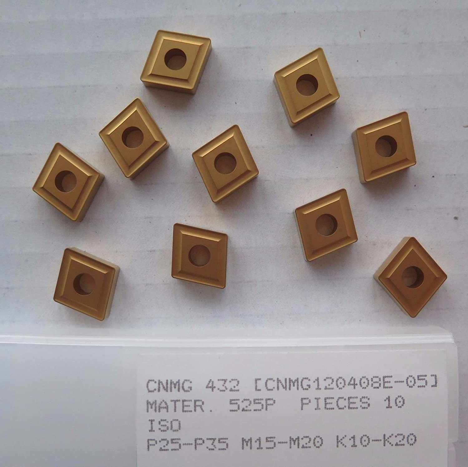 CARBIDE INSERTS 10