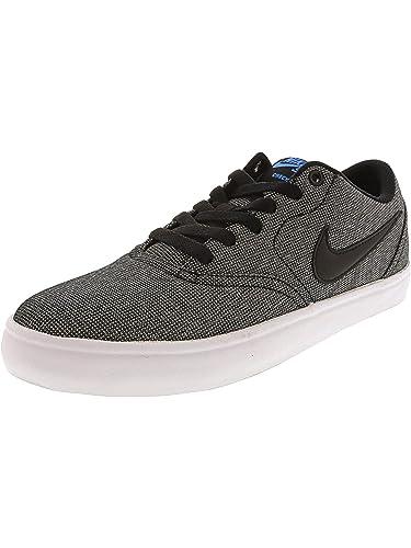 finest selection 80284 1b3cc Nike Skateboardschuh Check Solarsoft Canvas, Chaussures de Skateboard Homme   Amazon.fr  Chaussures et Sacs