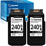 ZepmTek Remanufactured Ink Cartridge Replacement for Canon PG-240XL 240 XL Used with Pixma MG3600 MG3222 MG3220 MG3620 MX432