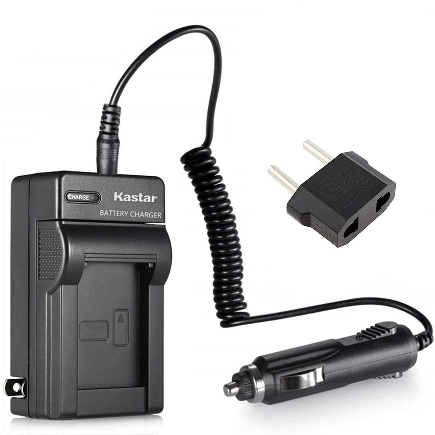 Kastar Compact Battery Charger Set for Sony NP-FM50 NP-FM55H NP-FM30 NP-FM70 NP-FM90 NP-QM51 NP-QM71D NP-QM91D NP-FM500H NP-F330 NP-F550 NP-F570 ...