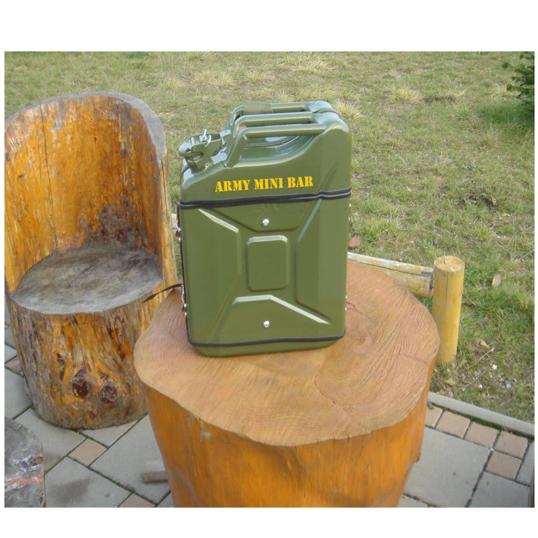 ARGENT Jerry can military mini bar: Amazon.de: Sport & Freizeit