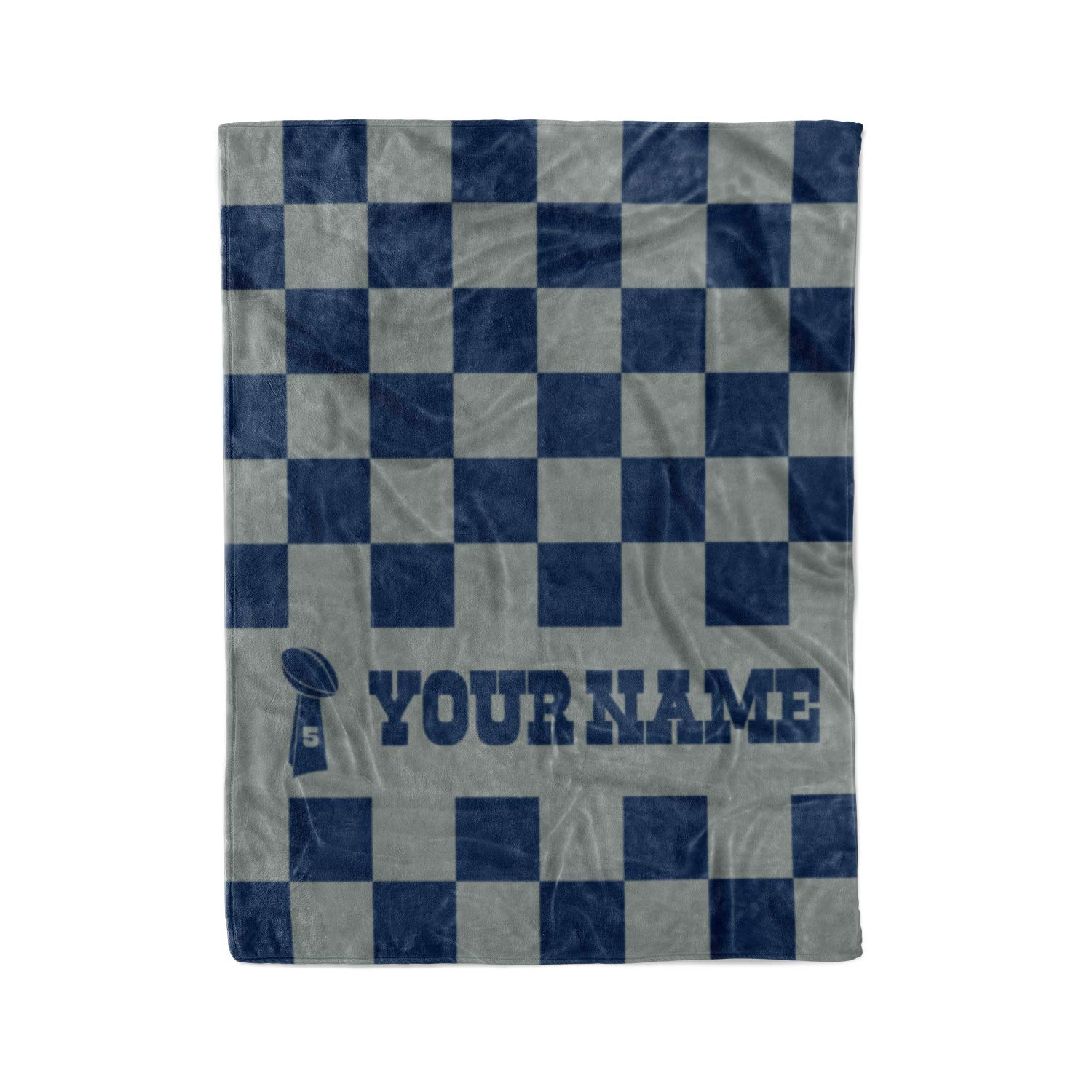 9d33e511a Personalized Corner Custom Dallas Cowboys Colors Themed Fleece Throw  Blanket - Gifts for Football Fans Men Women Kids Man Cave Decor Mens Womens  ...