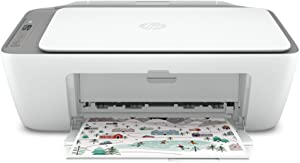 HP DeskJet Series All-in-One Wireless Color Inkjet Printer - White - Print, Scan, Copy for Home Business Office, Icon LCD Display, 1200 x 1200 dpi, Dual-Band WiFi, Bluetooth, USB, Instant Ink Ready