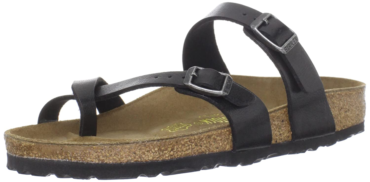 Birkenstock Women's Mayari Birko-Flor Sandal B007CGFV0O 42 EU/11-11.5 M US|Graceful Licorice