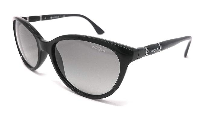 Vogue - Gafas de sol - para mujer Negro Negro 52: Amazon.es ...
