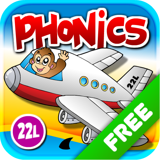 Phonics Island: ABCs First Phonics and Letter Sounds School Adventure vol 1 Kids Ready to Read - Fun Learning Reading Game with Animal Train for Preschool, Toddler & Kindergarten Explorers