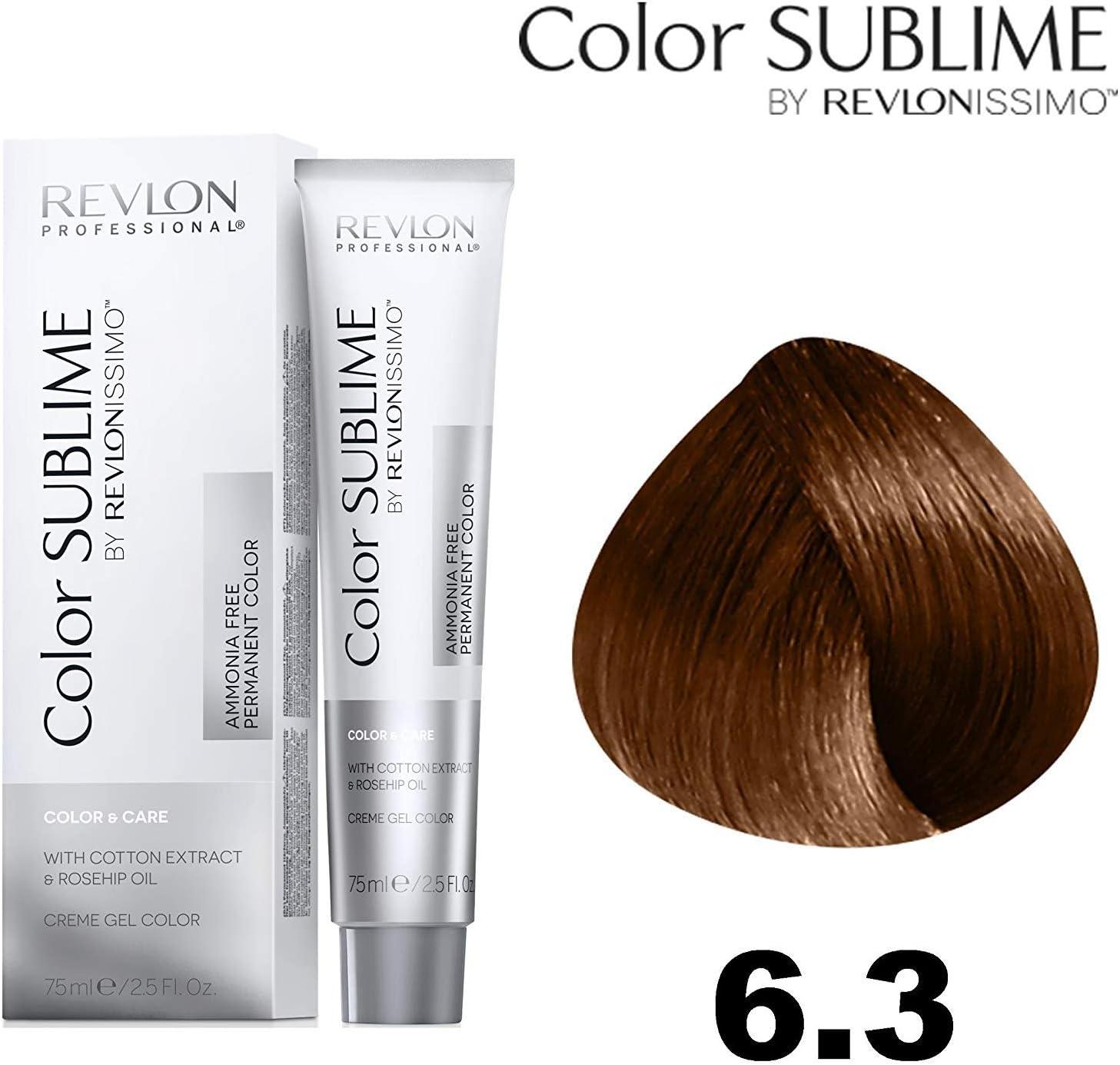 Revlonissimo Color sublime 75 ml, Color 6.3: Amazon.es: Belleza