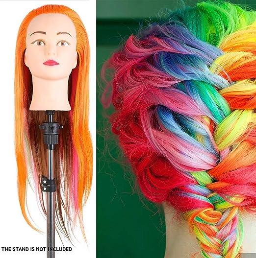 FUTAI Bald Female Mannequin Head Professional Cosmetology Manikin Head Wig Display Styling Head