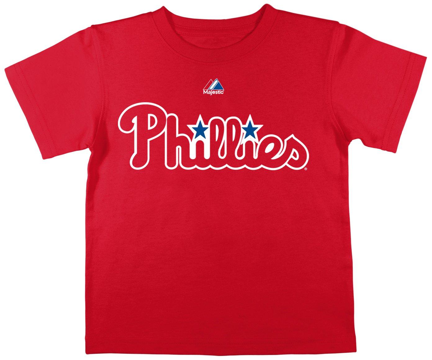 MLB Phillies Philadelphia Boy Phillies Boy 'sコールハメルズT、レッド、スモール MLB B00FOLG9ZU, グローブ湯もみ ナカムラスポーツ:0d445575 --- malebeauty.xyz
