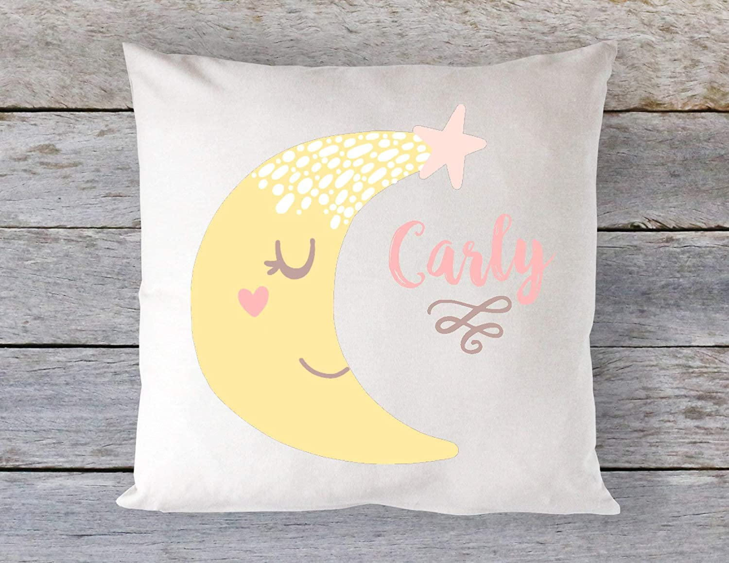 3b7a5ffdca1a6 Amazon.com: Dozili Baby Pillow Moon Pillow Personalized Moon Pillow ...