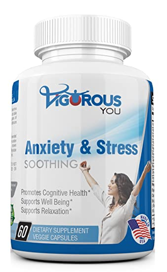 Powerful Anxiety & Stress Relief Supplement Soothing Calm - All-Natural  Anxiety Relief Supplements