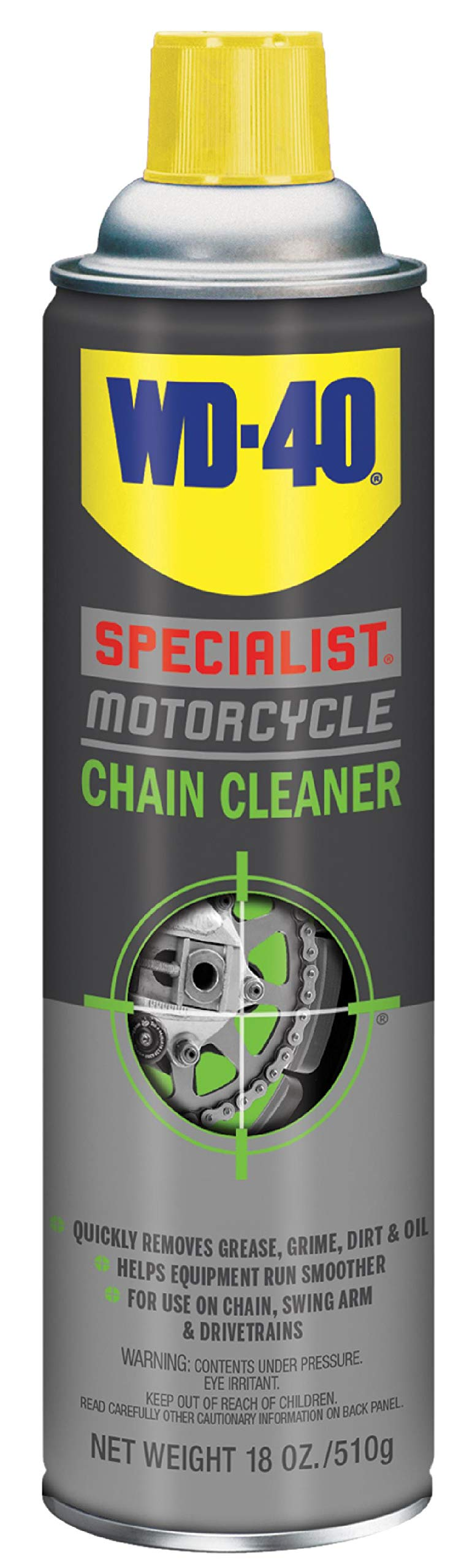 WD-40 Specialist Motorcycle Chain Cleaner, 18 OZ