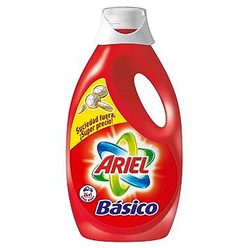 Ariel - Básico - Detergente líquido para lavadora - 1625 ml - [pack de 2]