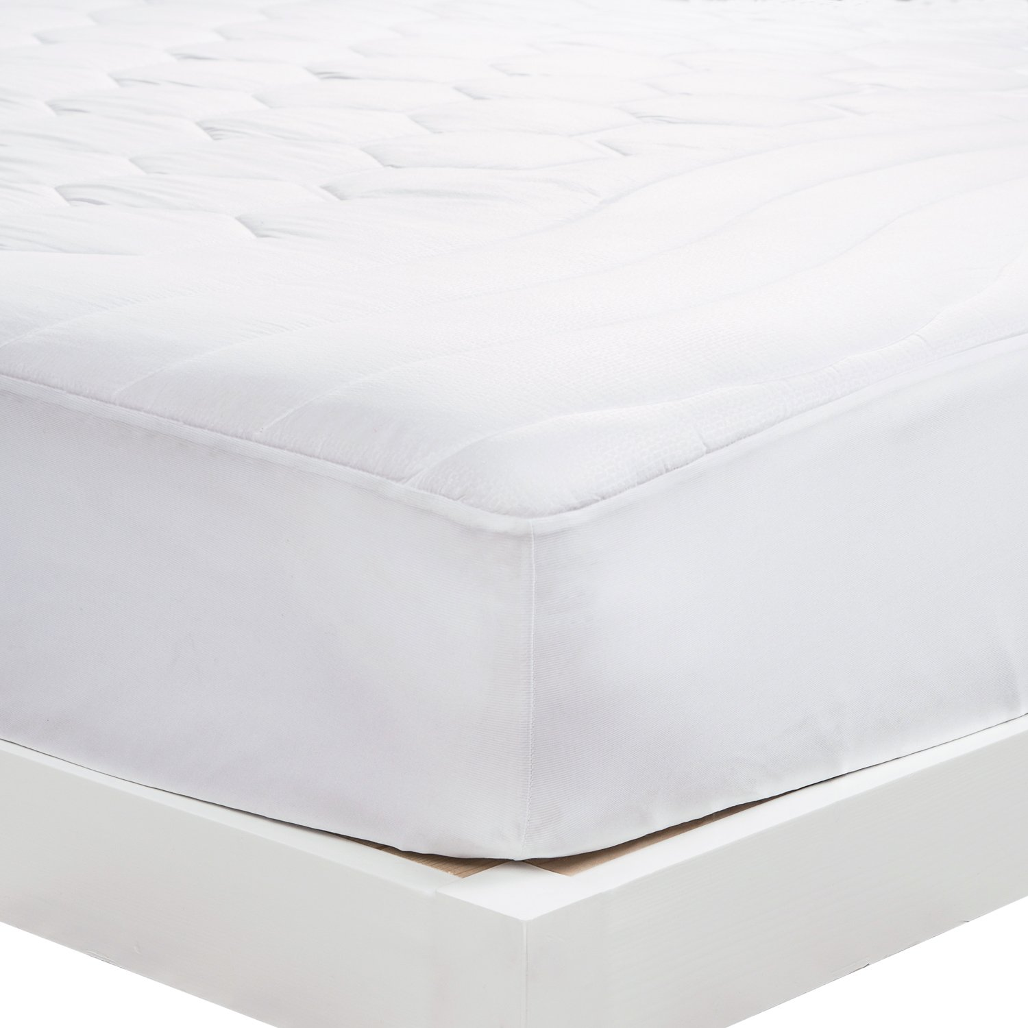 mattress pad twin xl twin extra long size hypoallergenic antibacterial ebay. Black Bedroom Furniture Sets. Home Design Ideas