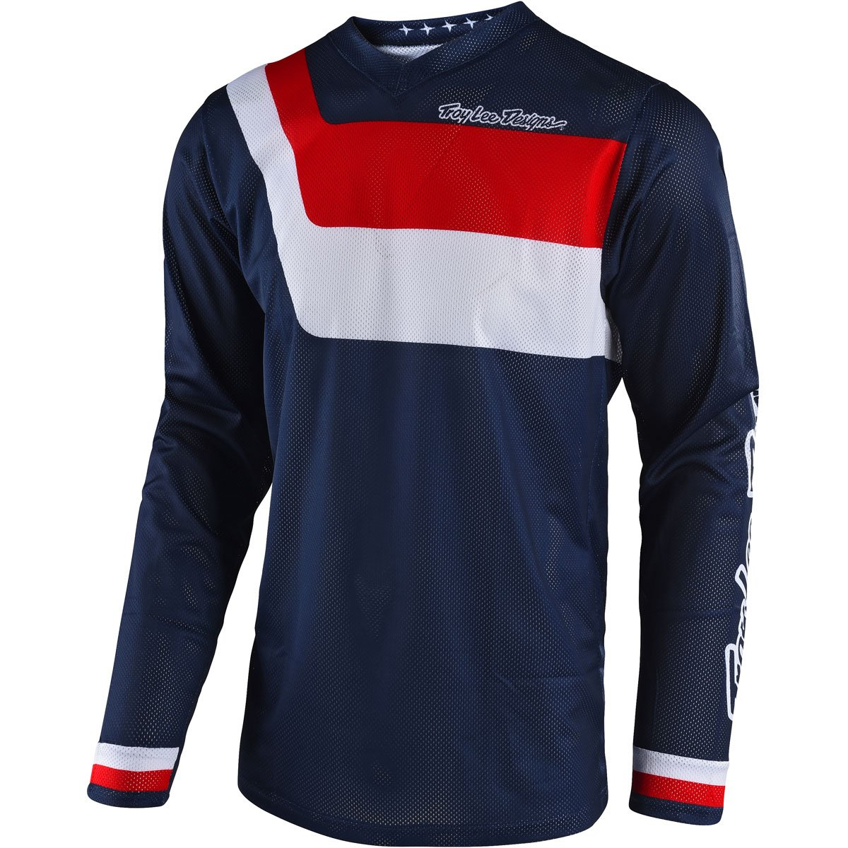 Troy Lee Designs 2018 GP Air Prisma Jersey-Navy-XL by Troy Lee Designs (Image #1)