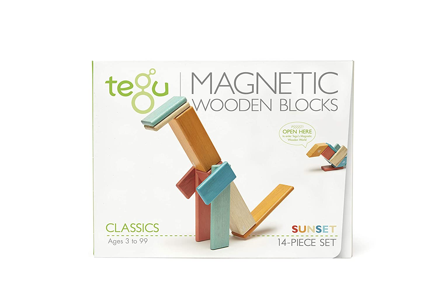 TEGU 14P-BSM-607T Magnetic Blocks, Blossom