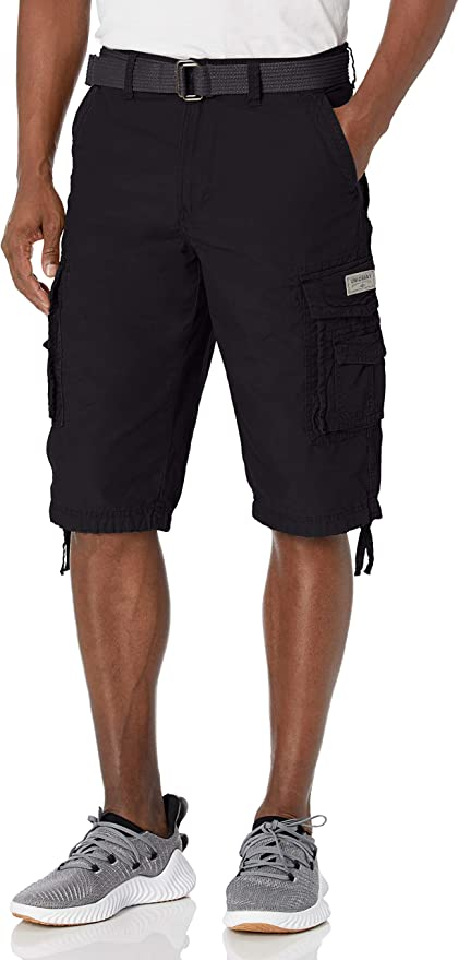Unionbay Men's Cordova Belted Messenger Cargo Short - Reg and Big and Tall Sizes   Amazon