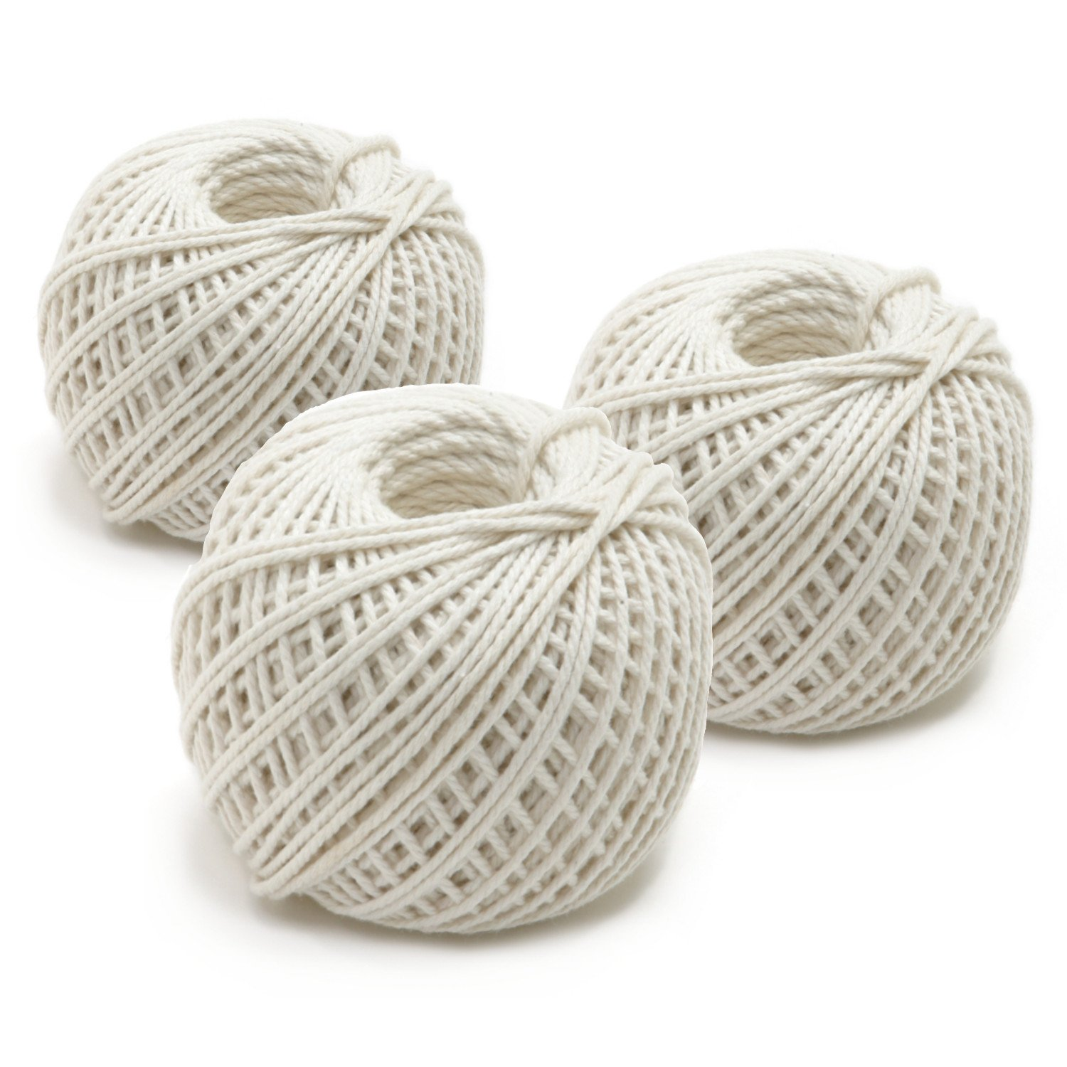 Norpro 100% Cotton 220 Foot Rolled Butcher's Twine, Set of 12 by Norpro