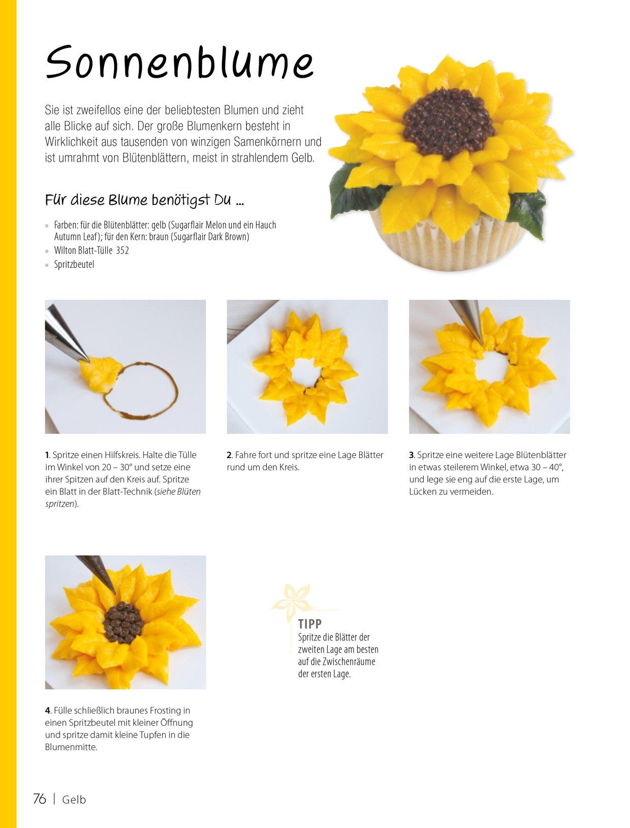 100 zauberhafte Frostingblüten: Schritt-für-Schritt-Anleitungen zum ...