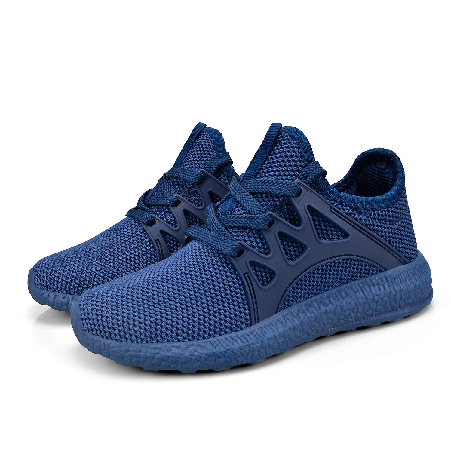Biacolum Boys Running Shoes Mesh Breathable Athletic Sneaker Tennis Shoes for Little Kids