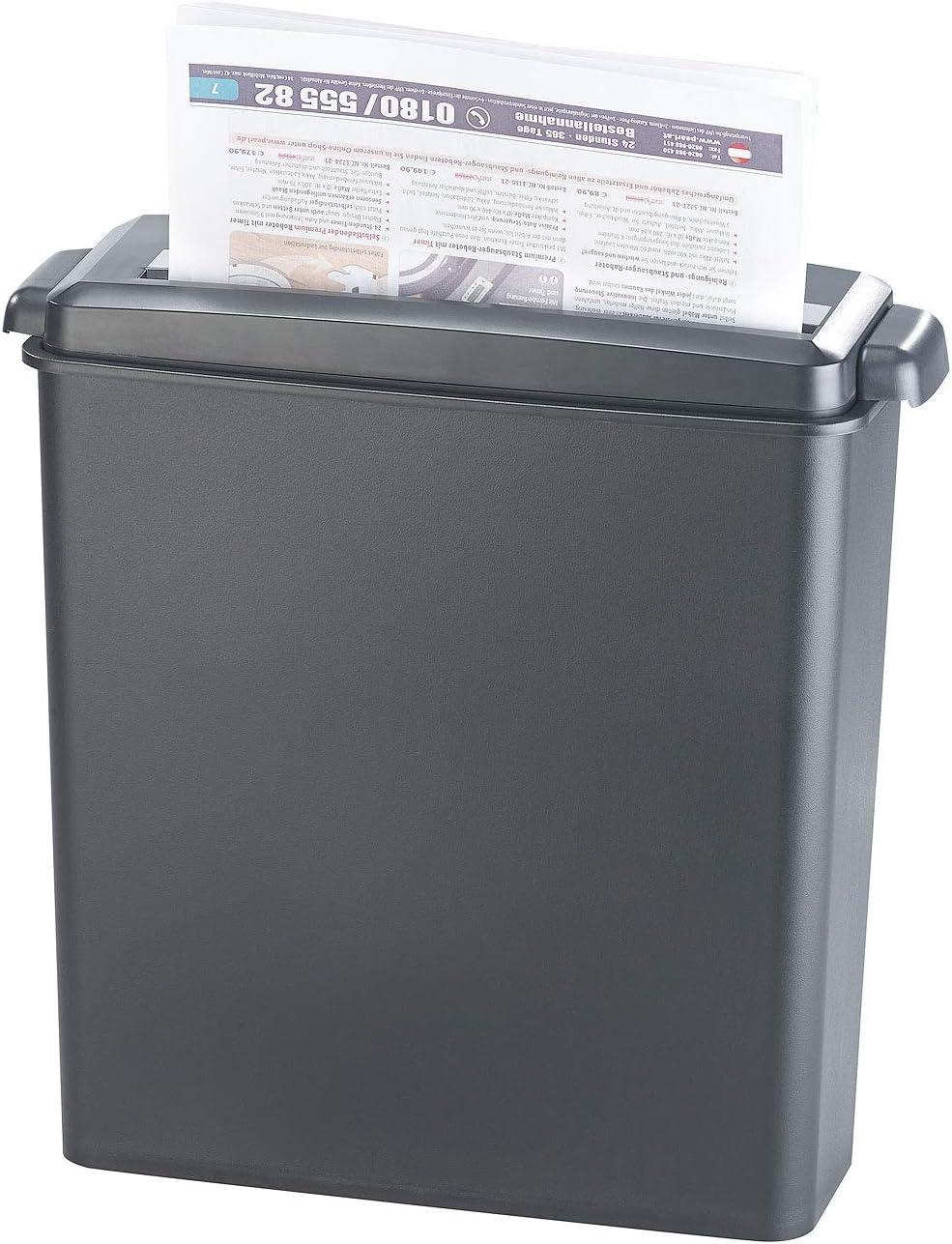 schredder fuer papier Kreuzschnitt Schredder Hochleistungs-Aktenvernichter Querschnittpapier und Kreditkarten-Home-Office-Aktenvernichter 220V EU-Stecker 6-Blatt-Aktenvernichter Aktenvernichter