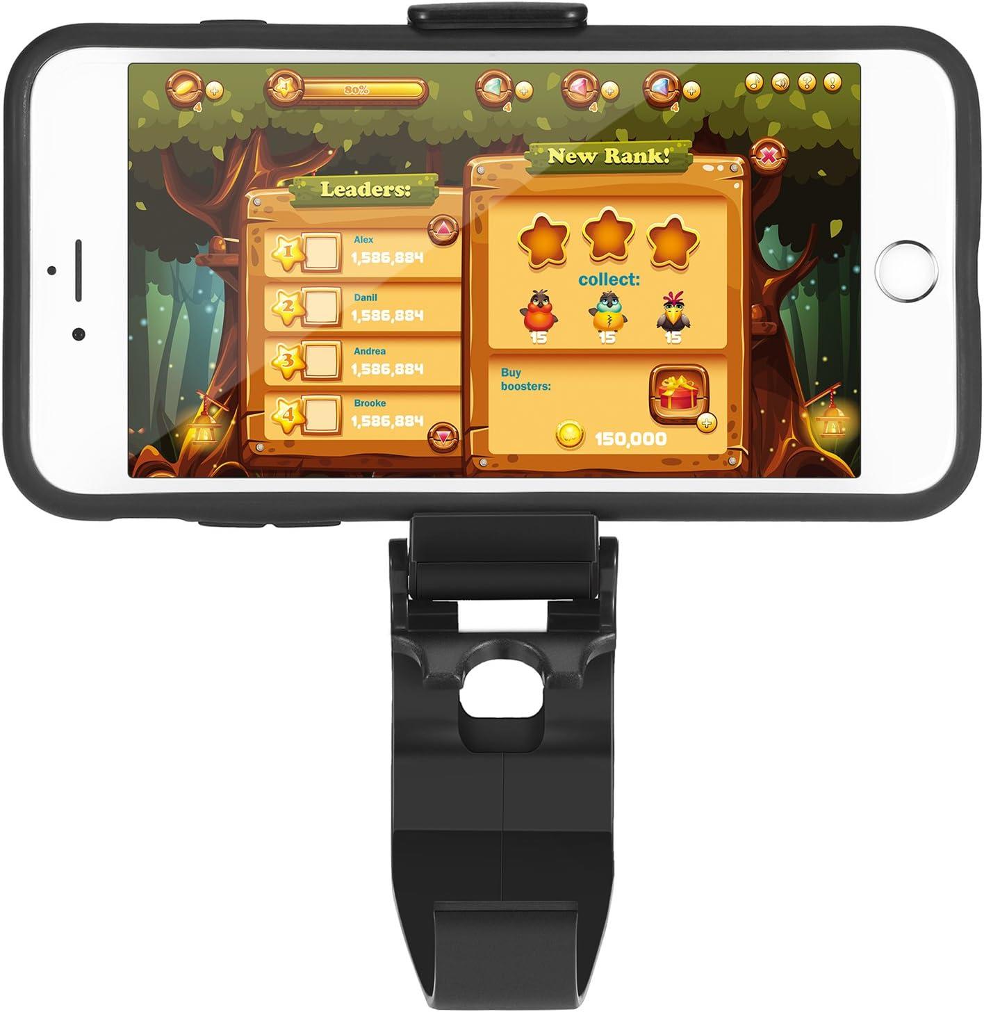Clip de Móvil Clip de Controlador Plegable One Soporte Abrazadera de Juego para Xbox Android Teléfono Móvil Teléfono Inteligente (2 Paquetes): Amazon.es: Videojuegos