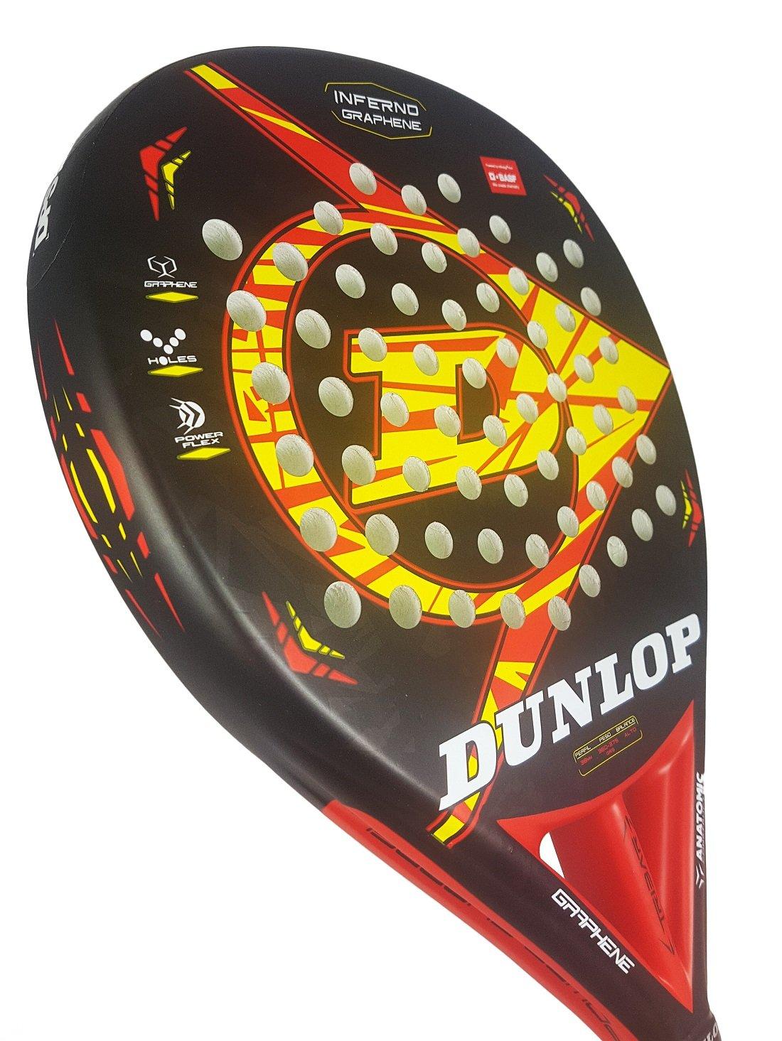 Dunlop Pala de Pádel Inferno Graphene: Amazon.es: Deportes y aire ...