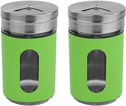 Geschenkbox mit Deckel mit Salzstreuer Pfefferstreuer Gewürzdosen Set inkl