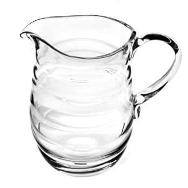 Portmeirion 749151422544 Sophie Conran Large Glass Jug with Handle, Clear