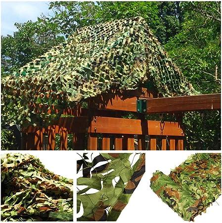 Malla de Camuflaje Militar, Red Sombrilla Velas Toldos Tienda de Campaña de Tela Oxford para Jardín Balcón Privacidad Sombrilla Fotografía Oculta Caza Tiro Verde (Tamaño Múltiple Opcional): Amazon.es: Hogar