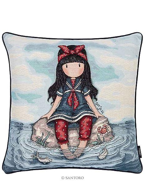 Santoro Gorjuss Cojin con relleno Reversible Sea 50 x 50 cm