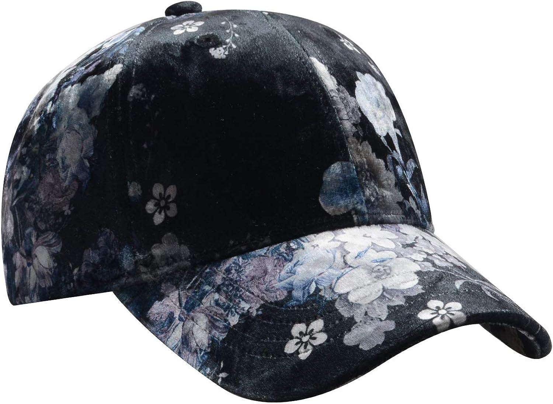 Hatphile Floral Ball Cap