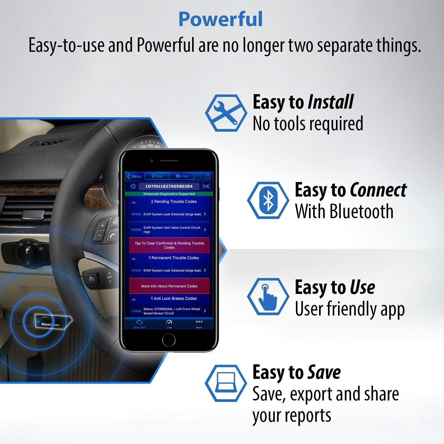 BlueDriver OBD2 Scanner Bluetooth Adapter Review 2018-TopScanTool