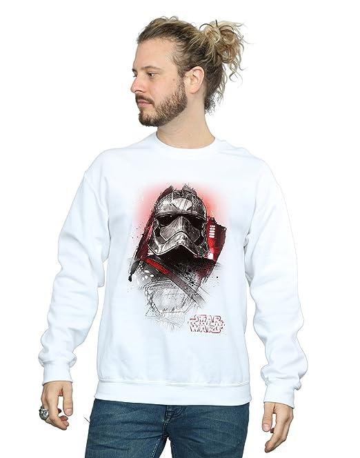 32554806ec Star Wars Uomo The Last Jedi Captain Phasma Brushed Felpa Medium ...