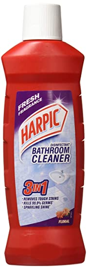 Harpic Bathroom Cleaning Liquid - 500 ml (Pack of 2, Floral)