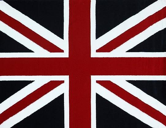 Mondial Tapis POUK-120 Tapis Anglais avec Drapeau Union Jack ...