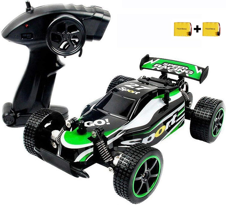 SZJJX Coche de Control Remoto de Alta Velocidad RC Cars 2.4Ghz 1:20 Fast Racing Drifting Buggy Hobby Vehículo eléctrico Vehículo de Juguete para niños Niños Niñas Regalo (Verde)