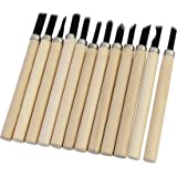PIGLOO™ Wood Carving Hand Chisels Knife Tools, 12 Piece Set