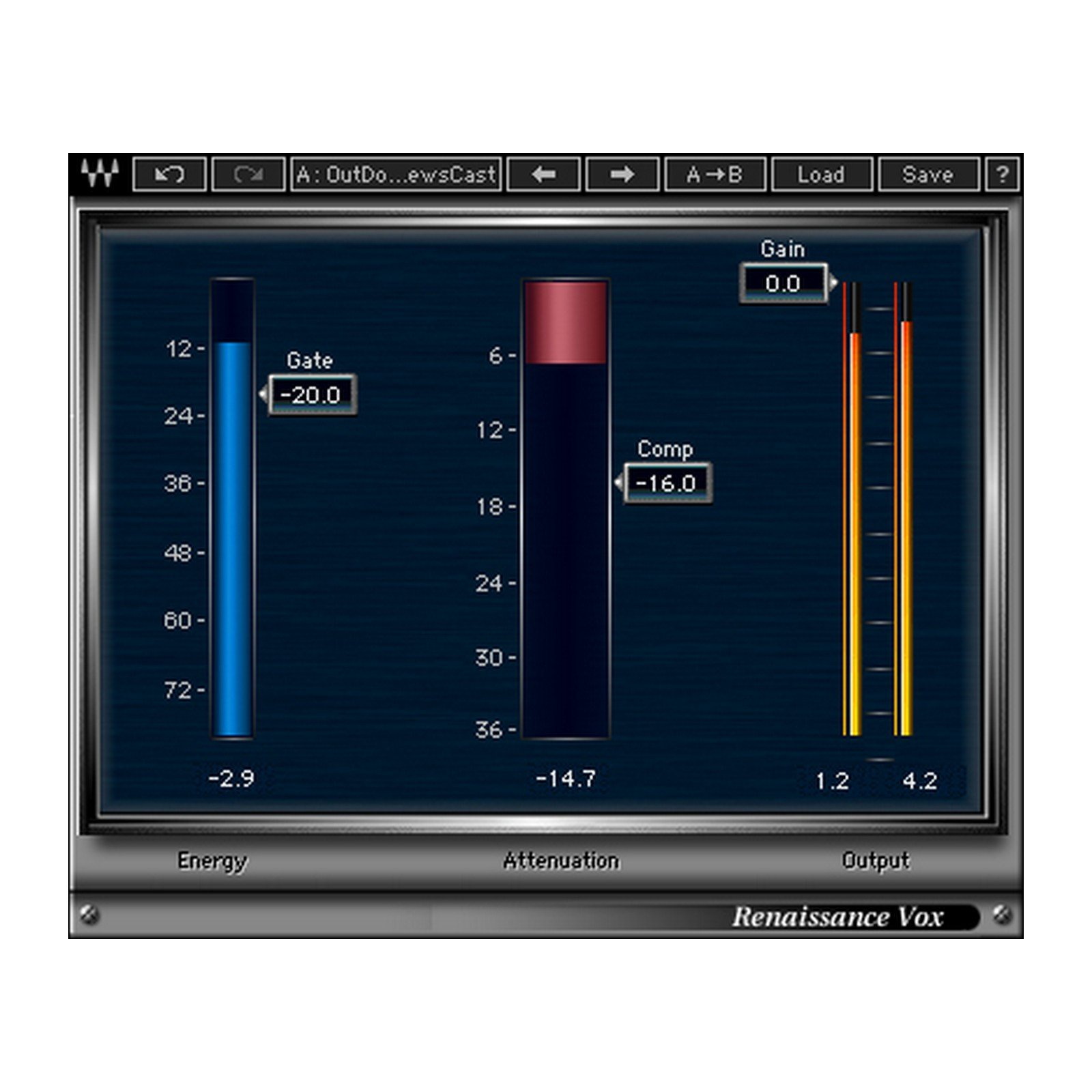 Waves Renaissance Vox | Vocal Tracks Processor Plugin Software Download Only by Waves