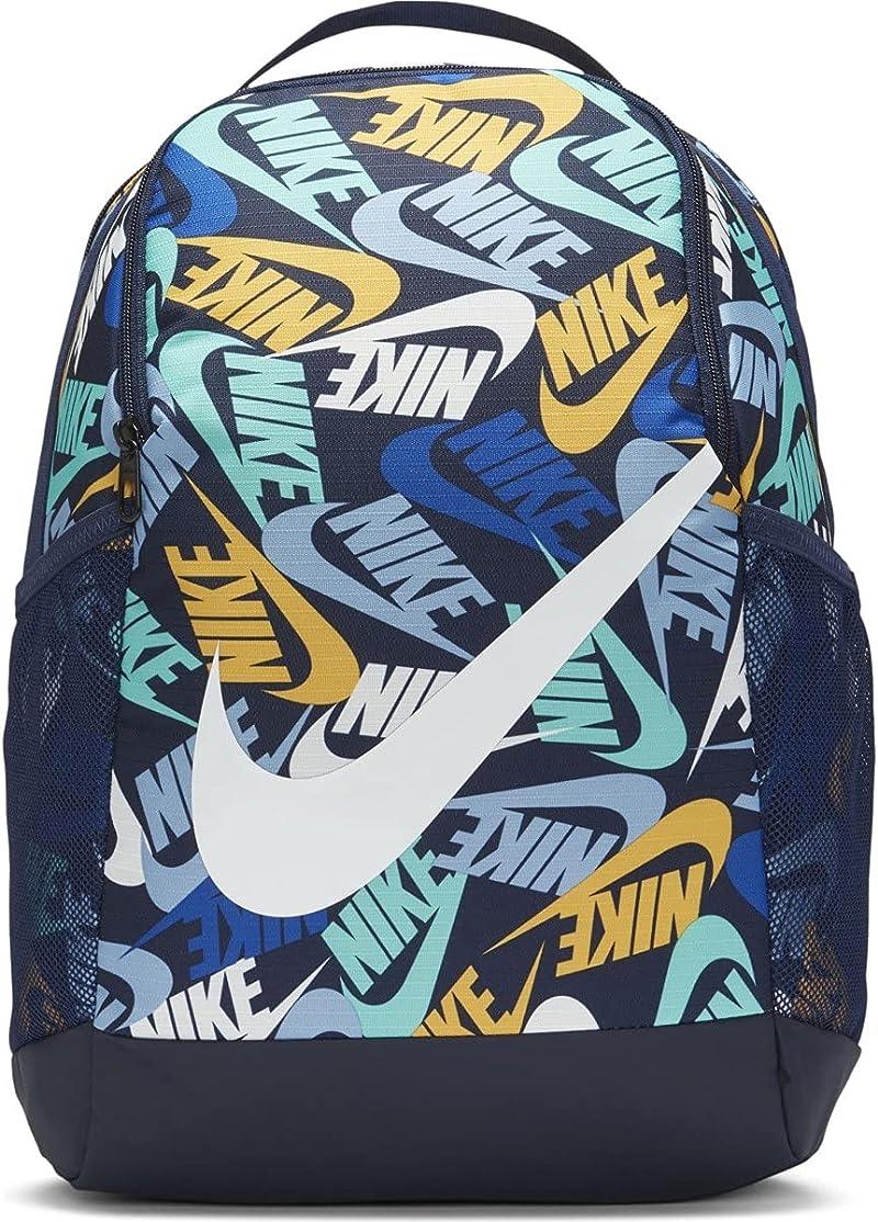 NIKE Youth Brasilia Backpack (Multi, Medium)
