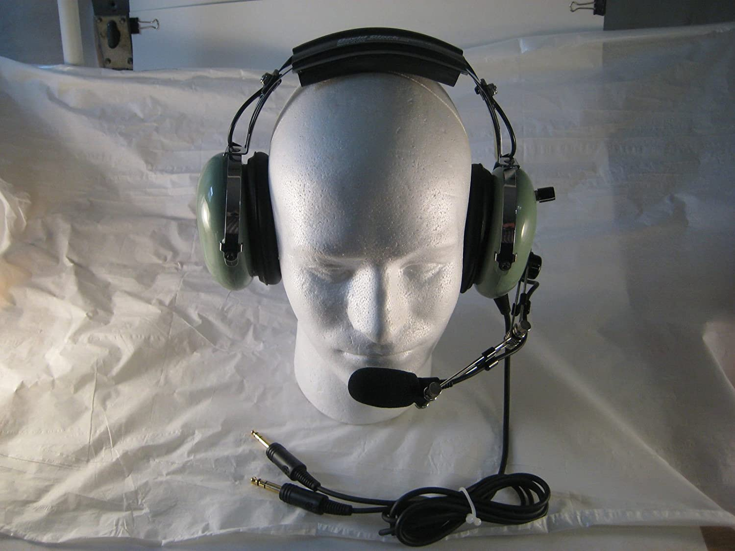 Amazon.com: David Clark Remanufactured General Aviation Headset GAR76 with  Volume Control: GPS & Navigation