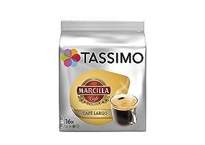 Tassimo Marcilla Cafe Largo (16 Servings)