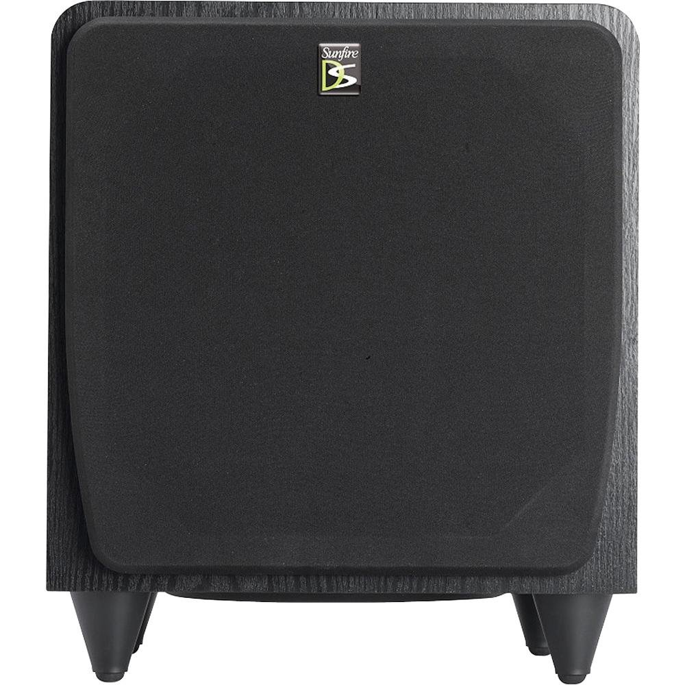 Sunfire Sds12 12 600w Black Home Theater Sub Powered Baby Boomer Dual 8quot Subwoofer Electronicswoot Sound System Audio